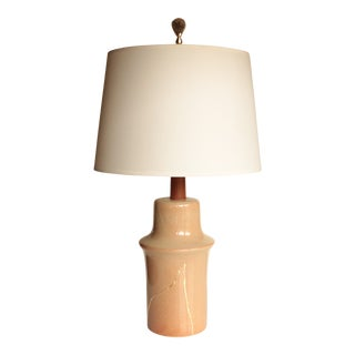 Gold Mended Martz Marshall Studios Table Lamp For Sale