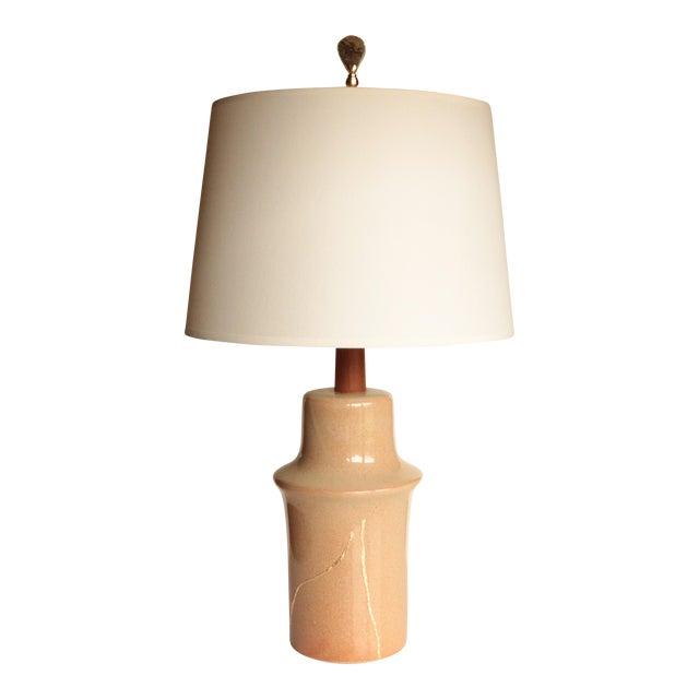 Gold Mended Martz Marshall Studios Table Lamp For Sale