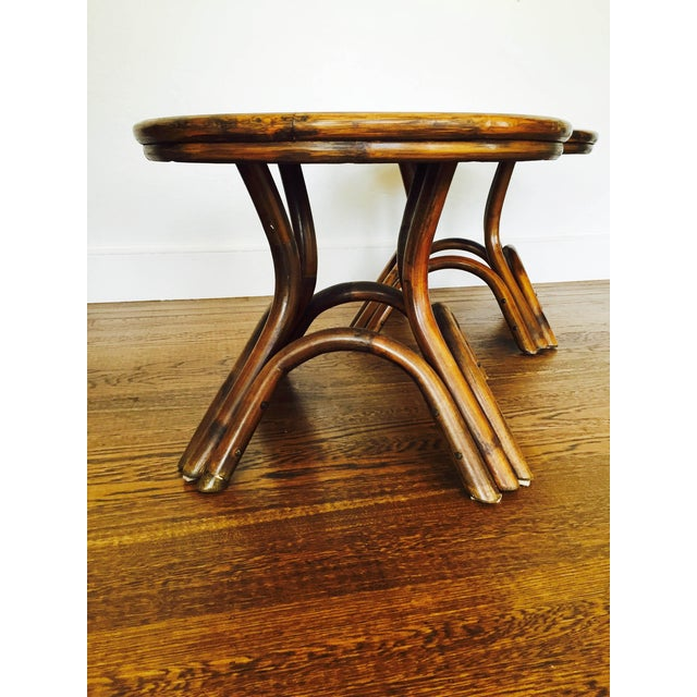 Vintage Bentwood Side Tables - Pair - Image 4 of 6