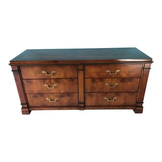 "Century Furniture Co. ""Empire"" Biedermeier-Styled 6-Drawer Dresser For Sale"