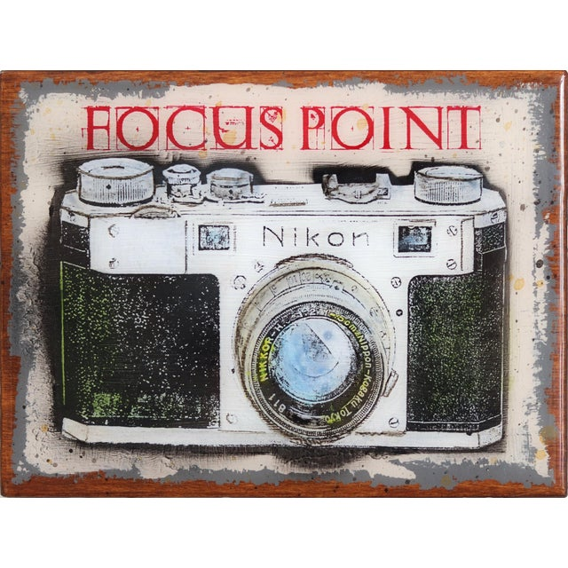 """""""Focus Point"""" Original Artwork by Carl Smith For Sale - Image 10 of 10"""