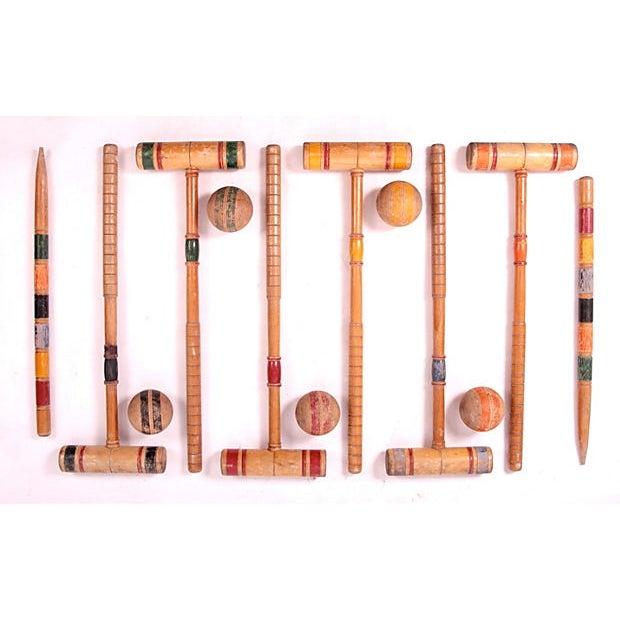 Vintage Croquet Set - 24 Pieces - Image 6 of 7