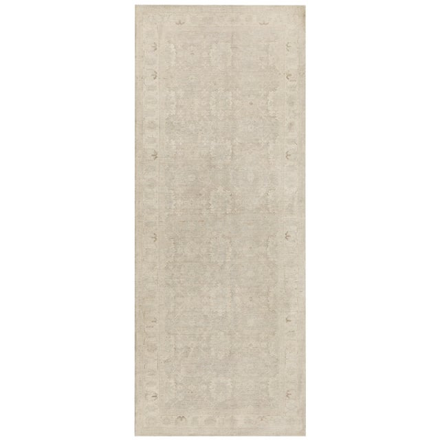 """Pasargad NY Fine Hand-Knotted Tabriz Area Rug - 4' x 10'2"""" For Sale"""