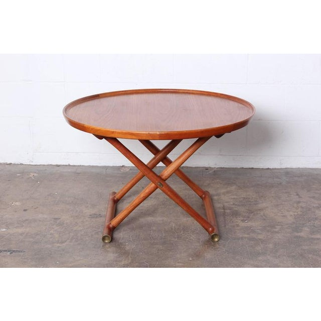 1950s Egyptian Table by Mogens Lassen for A.J. Iversen For Sale - Image 5 of 10