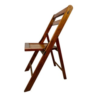 Vintage Folding Solid Wood Chair - 19 Available For Sale