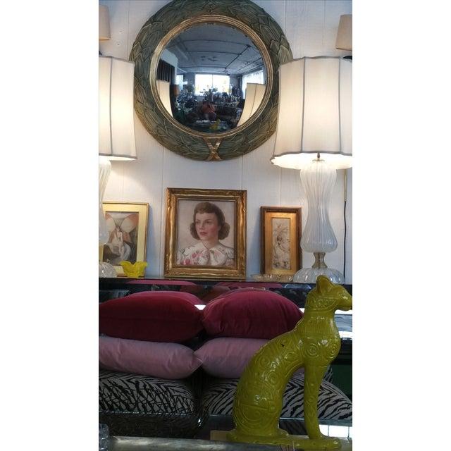 Paul Maitland Smith Convex Mirror - Image 5 of 6