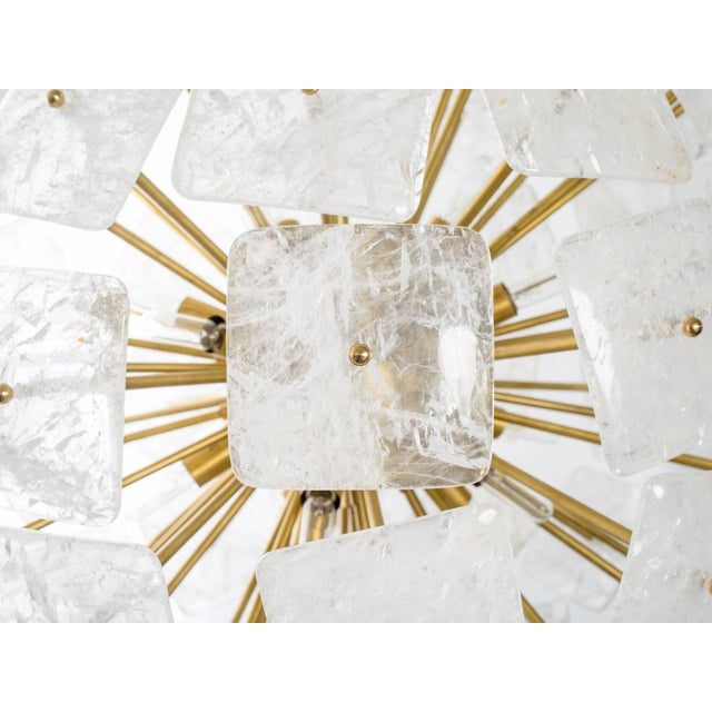 "Modern Large Sputnik Rock Crystal Chandelier ""Nova"", Limited Edition For Sale - Image 3 of 10"