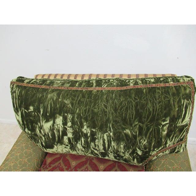 1990s Vintage Ej Victor Carol Hicks Bolton Custom French Sofa For Sale - Image 9 of 13