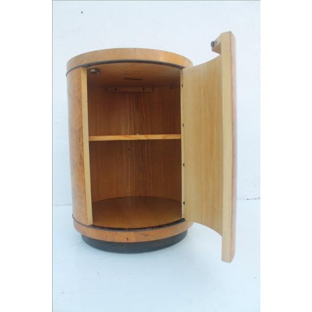 1970s Milo Baughman Burl Wood Side Table - Image 4 of 8