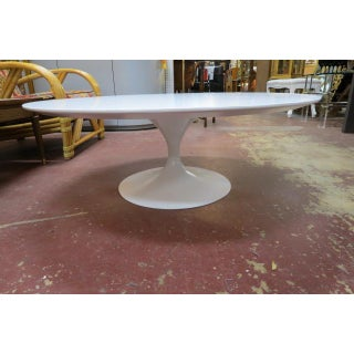 "Vintage Mid Century Modern 41.5"" Knoll Tulip Coffee Table by Saarinen Preview"
