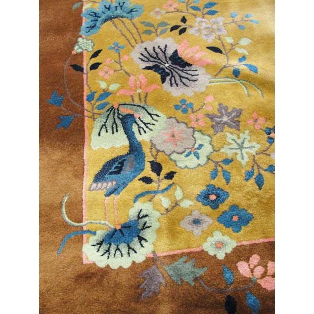 "Chinese Art Deco Rug-5'10"" X 8'5"" For Sale - Image 4 of 9"