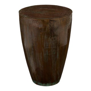 Phillips Collection Garden Copper End Table For Sale