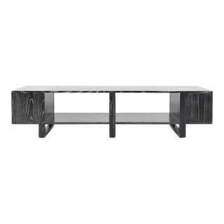 Dunbar Cerused Ebony Oak Cocktail/Coffee Table For Sale