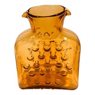 Blenko Vineyard Pattern Water Bottle For Sale
