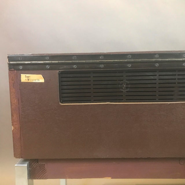"""1970s Blaupunkt GmbH """"Arizona"""" Rosewood & Chrome Stereo Console For Sale - Image 11 of 13"""