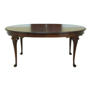 Statton Old Towne Cherry Dining Room Table For Sale