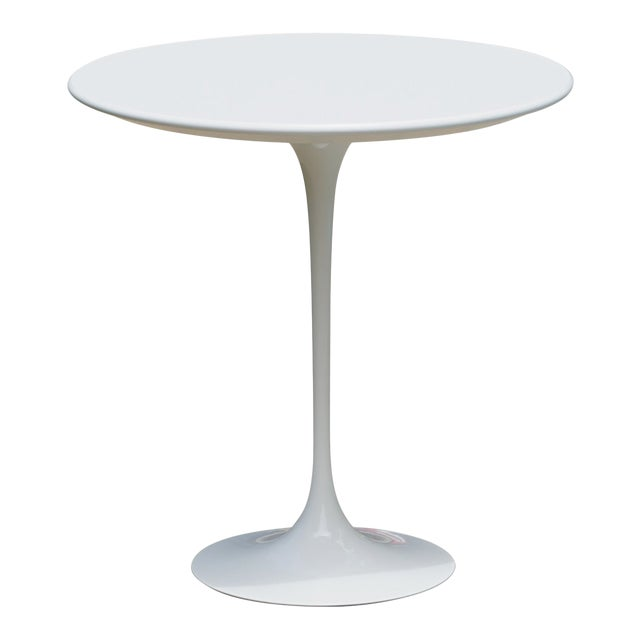 """Pedestal """"Tulip"""" Table in Laminate by Eero Saarinen for Knoll For Sale"""