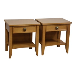 Kimball Maple Nightstands - A Pair
