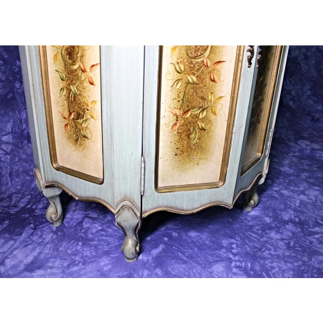 Portuguese Marble Top Cabinet For Sale - Image 9 of 12