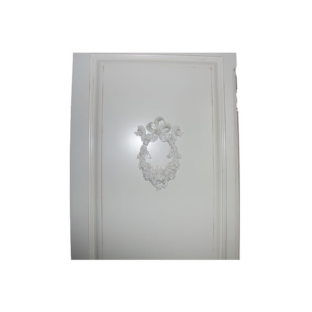 French Style Cane White Armoire by Art for Kids - Image 3 of 3