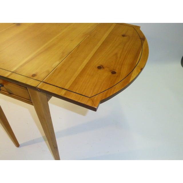 1940s Georgian Pine Pembroke Table For Sale - Image 9 of 12