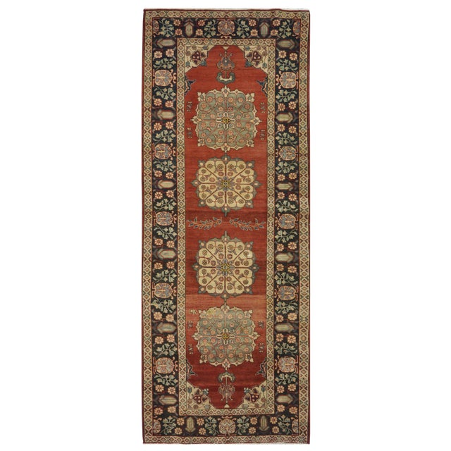 Vintage Persian Khalkhal Rug - 3′8″ × 10′3″ For Sale