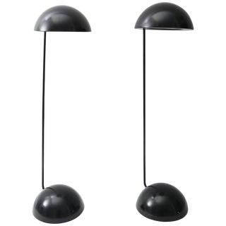 "Black ""Bikini"" Table Lamps by Barbieri & Marinelli for Thonconi - a Pair For Sale"