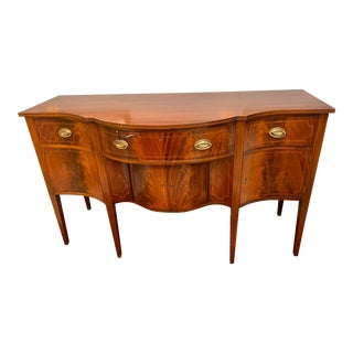 19th Century Mahogany Sideboard For Sale