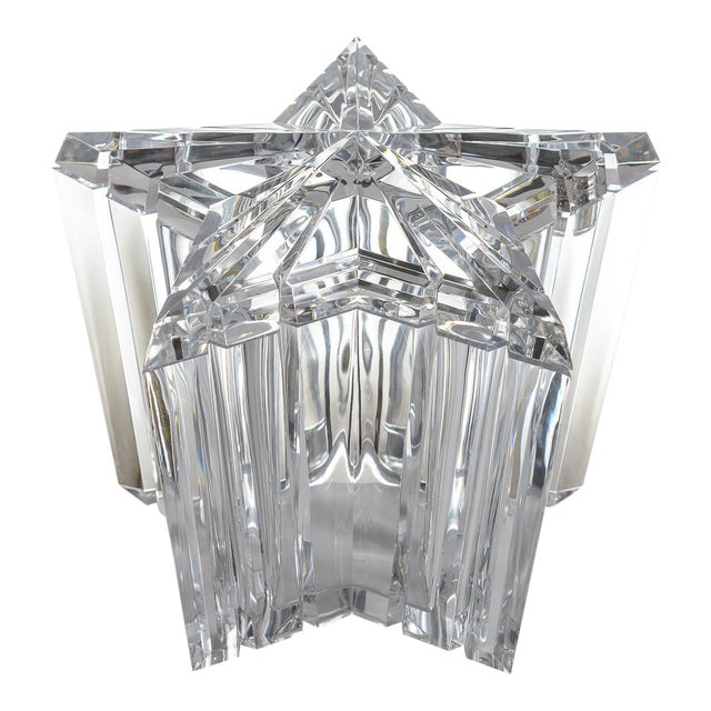 Mid-Century Modern Lucite/Acrylic Star Shape Ice Bucket - Image 1 of 11