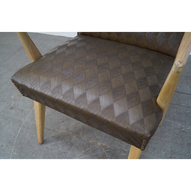 Mid-Century Russel Wright Lounge Chairs - Pair For Sale - Image 9 of 10
