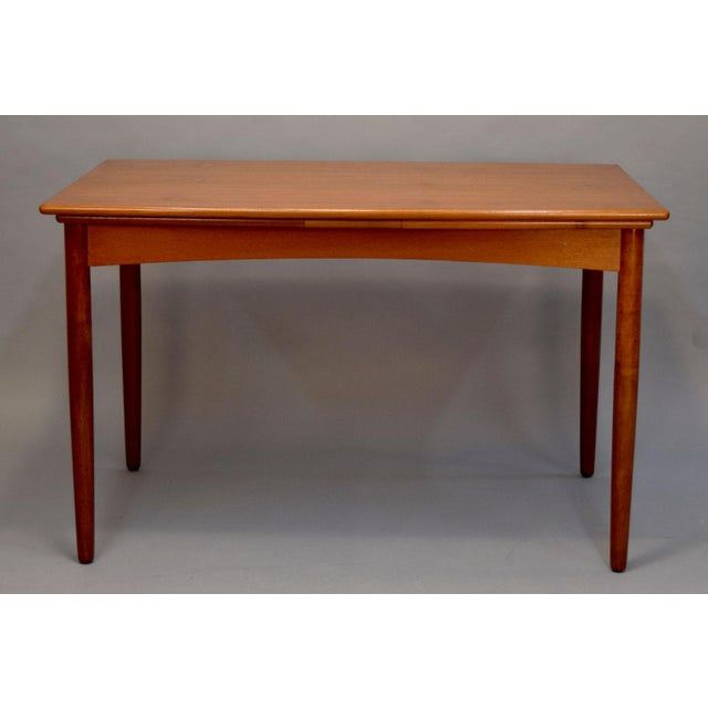 1960s Danish Teak Dining Table - Image 8 of 11