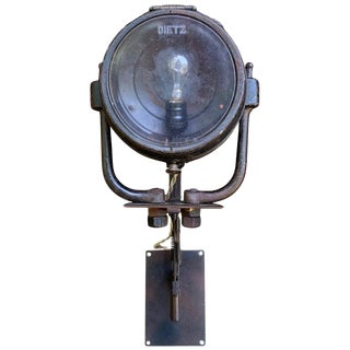 Vintage American Industrial Swing-Arm Extension Lamp For Sale