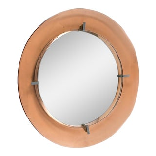 Cristal Art Circular Mirror For Sale