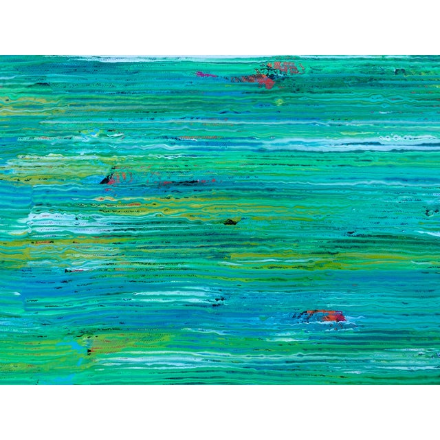 Contemporary Abstract Paintings - A Pair - Image 6 of 6