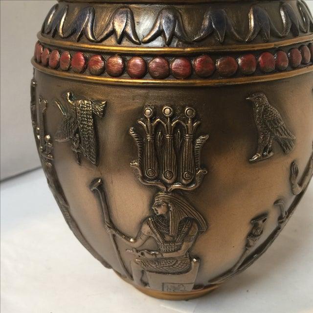 Large Egyptian Dog Urn - Image 5 of 10