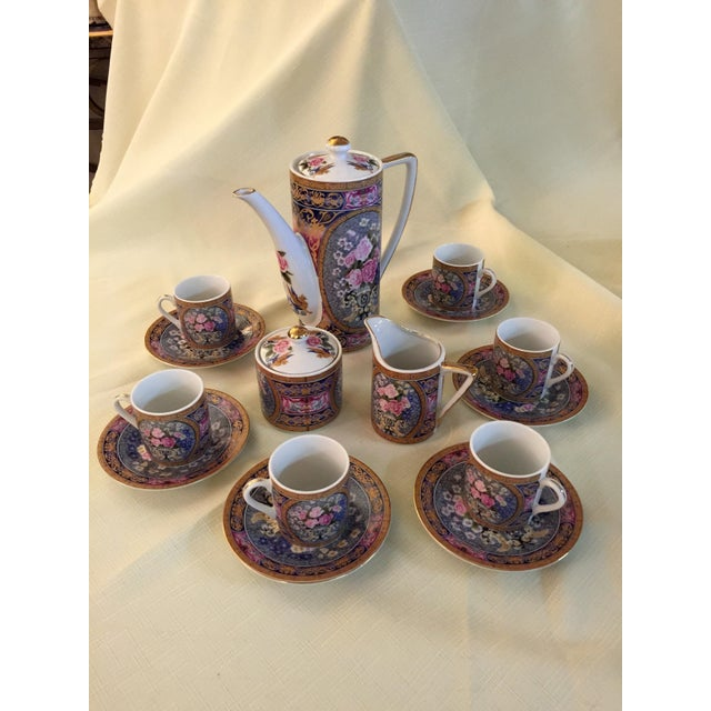 Vintage Demitasse Tea Set - Set for 6 - Image 2 of 6
