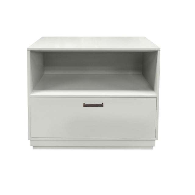 Not Yet Made - Made To Order Minimalistic White Maple Filing Cabinet From Garden Street For Sale - Image 5 of 5