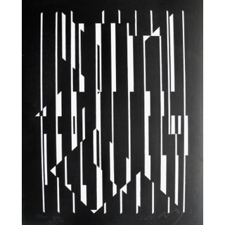 20th Cnetury Optical Art Black and White Lithographs or Screen-Prints by Victor Vasarely Preview