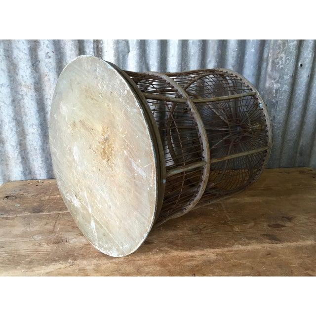 Antique Bentwood & Metal Bird Cage - Image 7 of 7