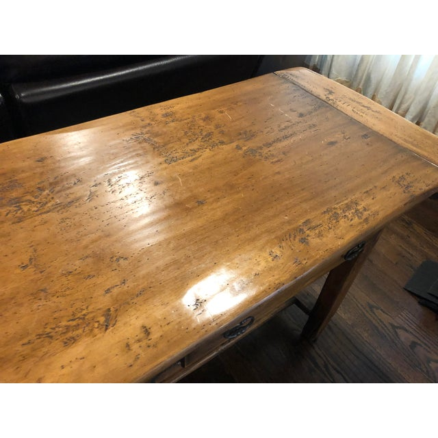 Sofa Table - Solid Wood For Sale In New York - Image 6 of 12
