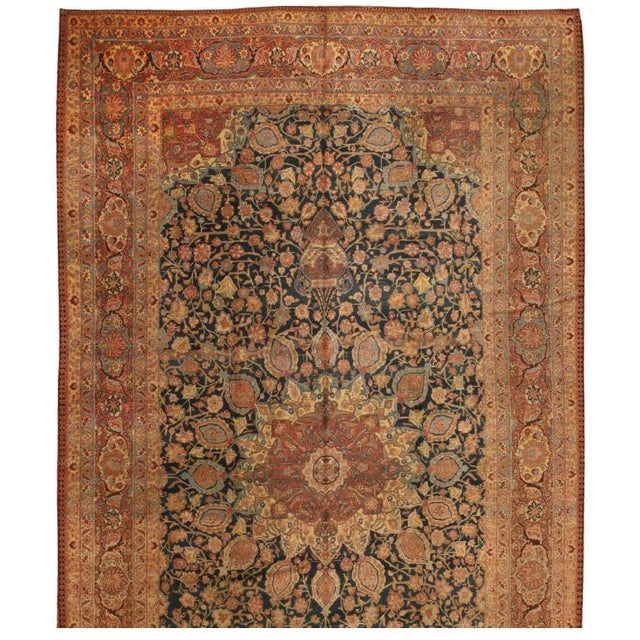 Antique Oversize 19th Century Persian Tabriz Carpet - Image 1 of 1