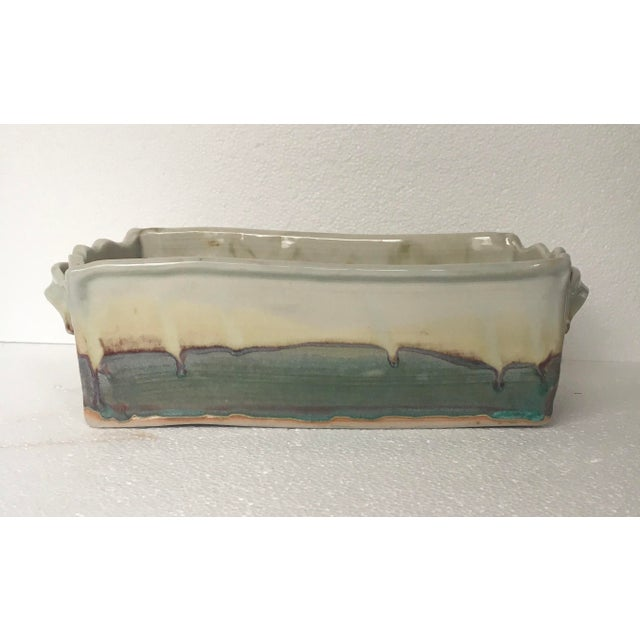 1970s Organic Modern Ocmulgee Studio Pottery Planter For Sale - Image 9 of 9