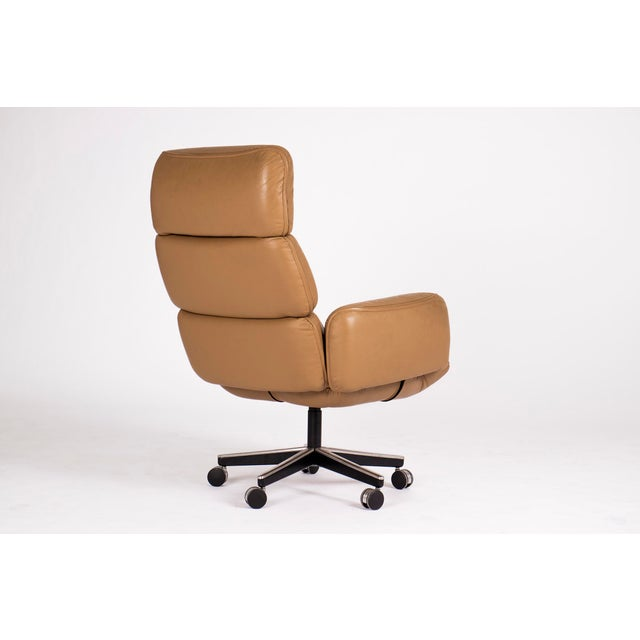 Mid-Century Modern Otto Zapf Executive Chair For Sale - Image 3 of 4