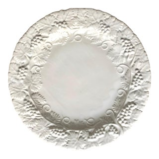 """Deruta Italian Faience """"Grappa"""" Large Serving Platter For Sale"""