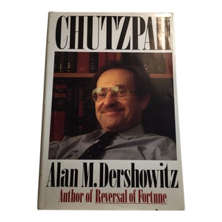 "Alan M. Dershowitz 1991 ""Chutzpah"" Book"