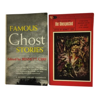 Mid-Century Ghost & Horror Stories Book Set - Pair For Sale