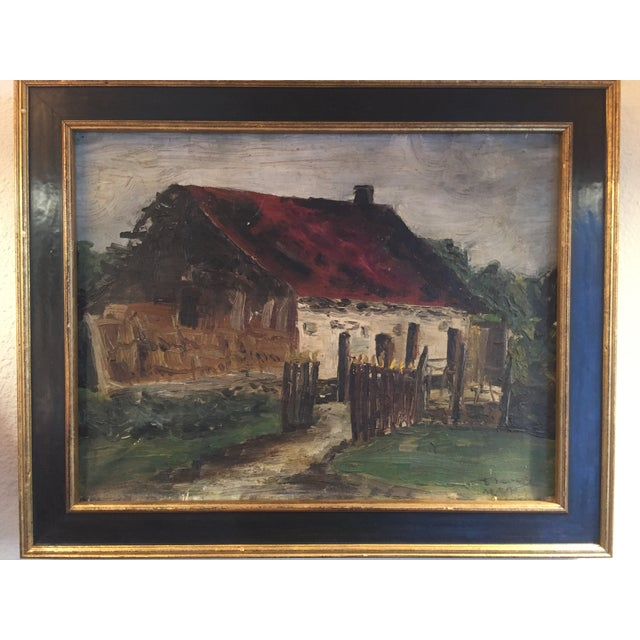 Beautiful old painting I've recently had reframed. Wonderful colors & will be a great accent piece for any space. Signed...