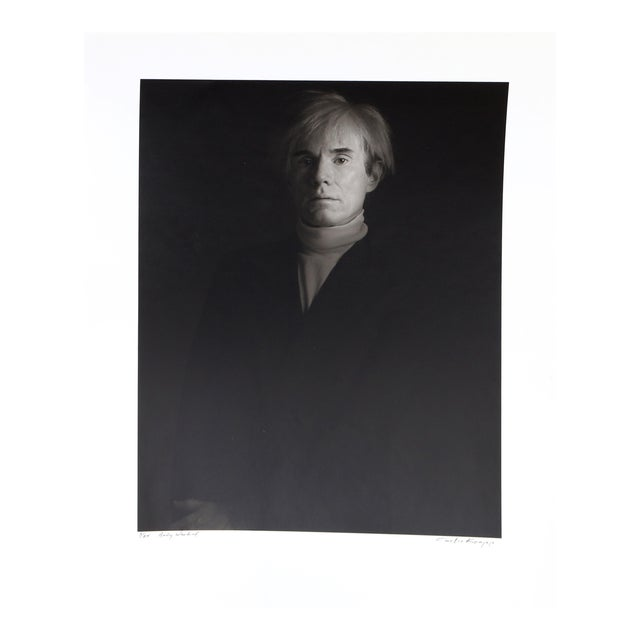Andy Warhol, Photo Portrait by Curtis Knapp For Sale