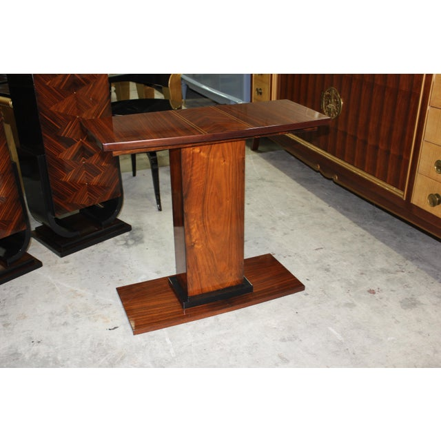 French Art Deco Console Tables - A Pair - Image 9 of 10