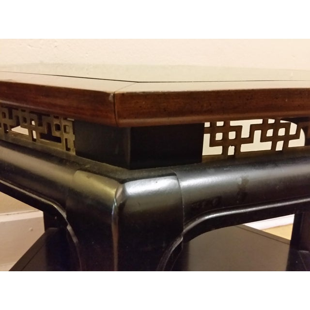 Hollywood Regency Hexagonal End Tables - a Pair - Image 6 of 8